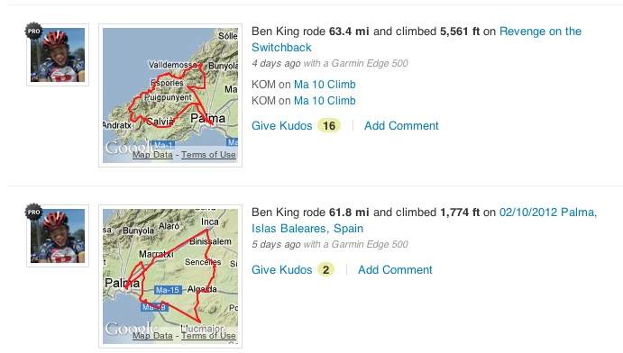 Strava with Google maps thumbnail